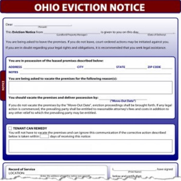 3 Day Notice – Copy of an Eviction Notice